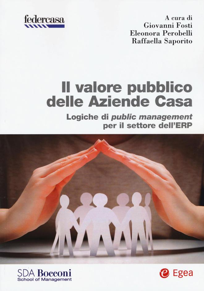 Copertina del libro Il valore pubblico delle Aziende Casa. Logiche di public management per il settore dell'ERP